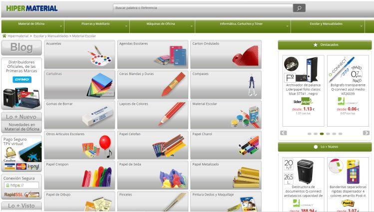 Material escolar - Materiales para manualidades